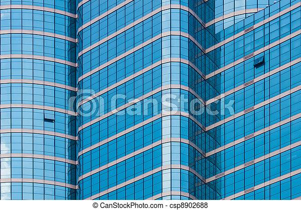 mirror glass building - csp8902688