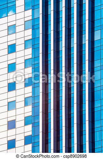 mirror glass building - csp8902698