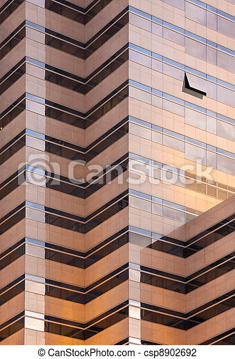 mirror glass building - csp8902692