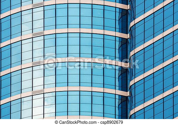 mirror glass building - csp8902679