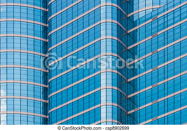 mirror glass building - csp8902699
