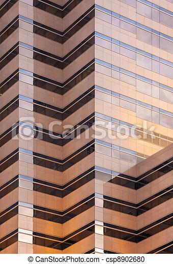 mirror glass building - csp8902680