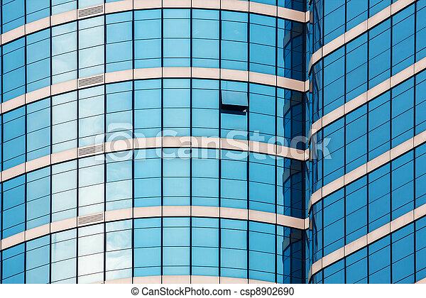 mirror glass building - csp8902690