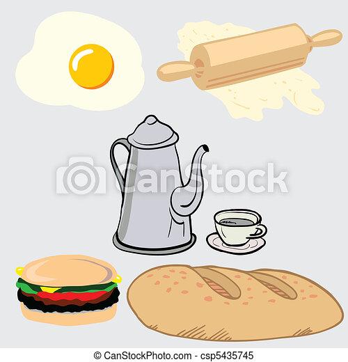 Miscellaneous food - csp5435745