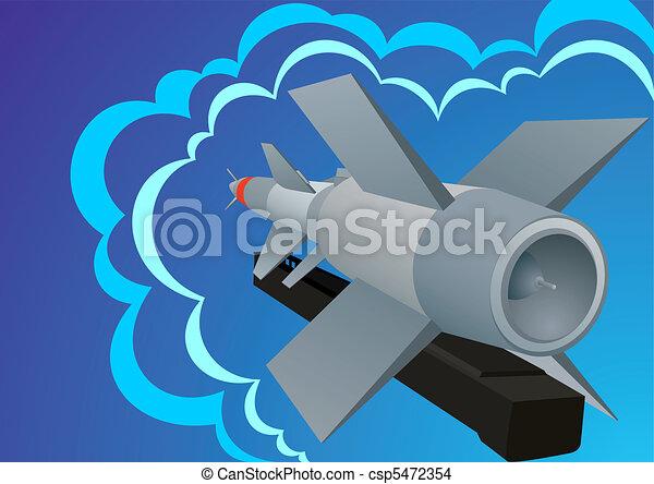 Missile defense - csp5472354