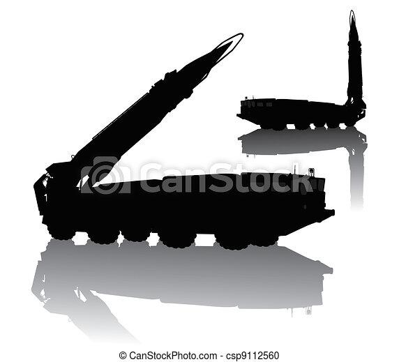 Missile launcher - csp9112560
