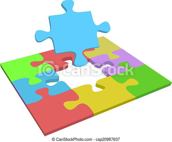 Missing piece find problem solution - csp20987637