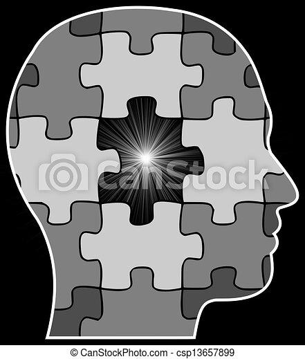 Missing Puzzle Piece - csp13657899