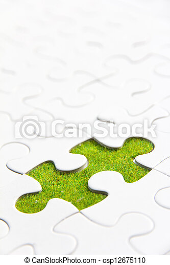 missing puzzle piece - csp12675110