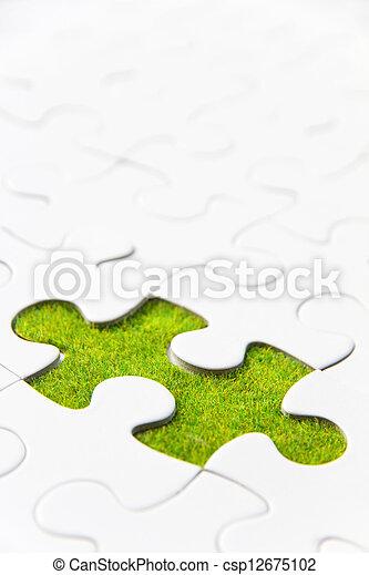 missing puzzle piece - csp12675102