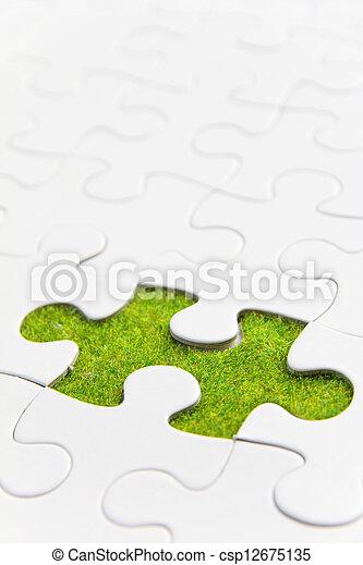 missing puzzle piece - csp12675135