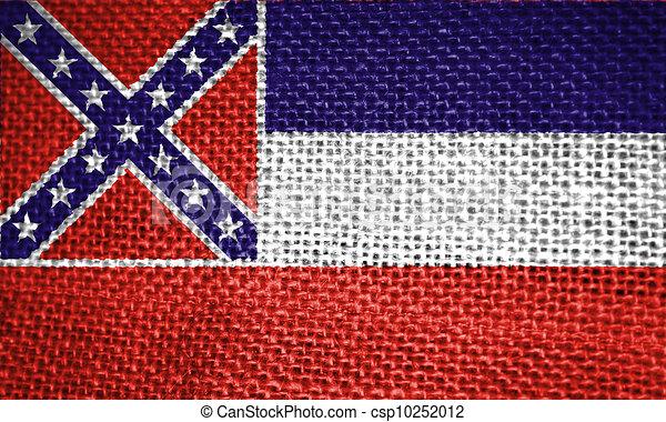mississippi state flag - csp10252012