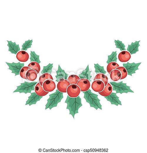 mistel zweig rote beeren dekorativ zweige mistel abbildung berries vektor weihnachten. Black Bedroom Furniture Sets. Home Design Ideas