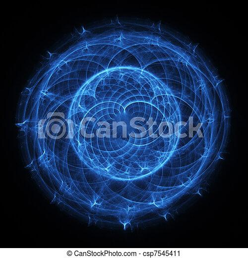 Esfera misteriosa - csp7545411