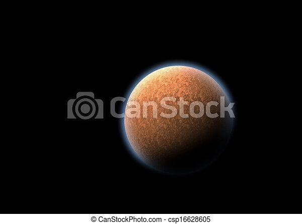 Un planeta misterioso - csp16628605