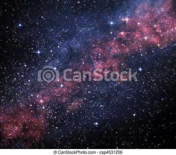 Un universo misterioso - csp4531206