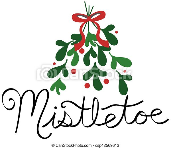 mistletoe vector clip art search illustration drawings and eps rh canstockphoto com christmas mistletoe vector free mistletoe vector free