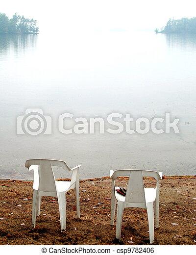 Misty Lake - csp9782406