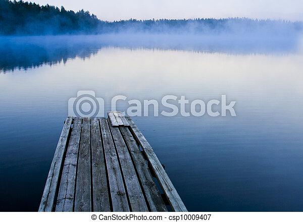 Misty morning - csp10009407
