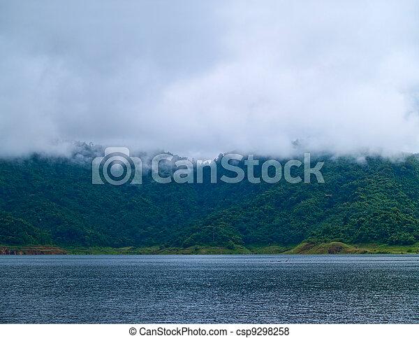 Misty mountain - csp9298258
