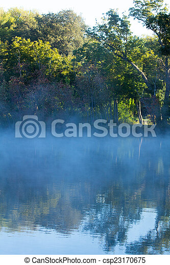Misty Reflections - csp23170675