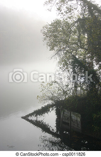 Misty reflections - csp0011826