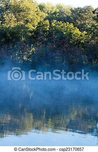Misty Reflections - csp23170657