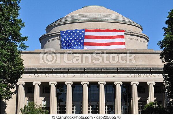 MIT in Cambridge, MA, USA - csp22565576
