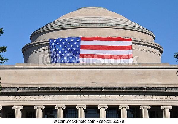 MIT in Cambridge, MA, USA - csp22565579