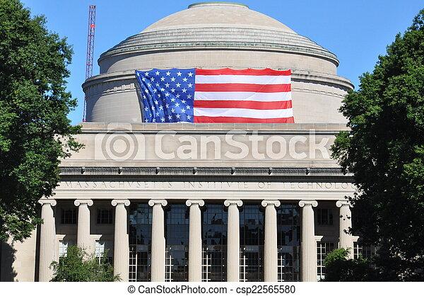 MIT in Cambridge, MA, USA - csp22565580