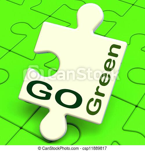 Mittel Eco Mülltrennung Grün Gehen Feundliches Eco