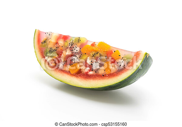 mix fruits jelly - csp53155160