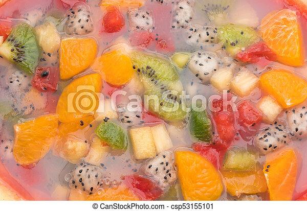 mix fruits jelly - csp53155101