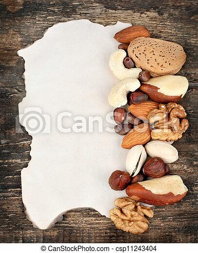 Mix nuts - csp11243404