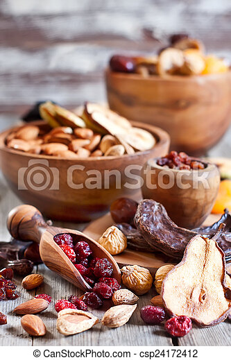 Mix of dried fruits - csp24172412