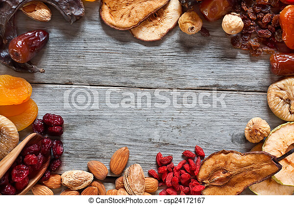 Mix of dried fruits - csp24172167