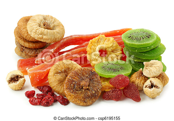 Mix of dried fruits - csp6195155