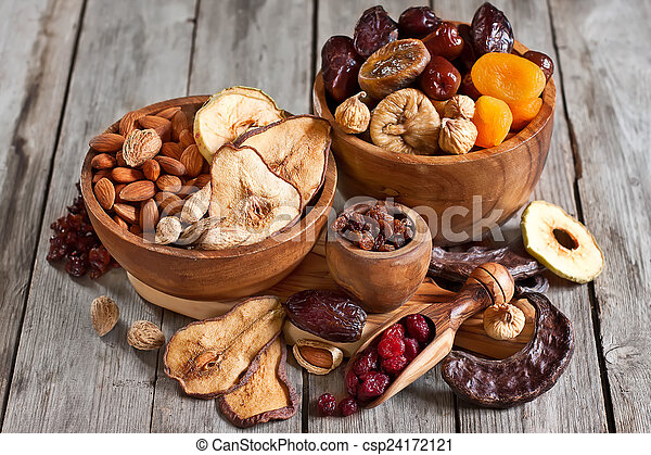 Mix of dried fruits - csp24172121