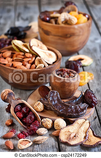 Mix of dried fruits - csp24172249