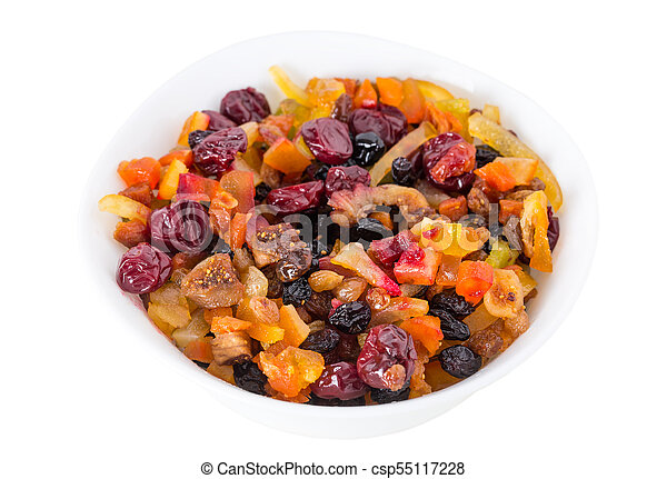 Mix of dried fruits. - csp55117228