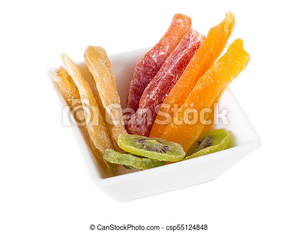 Mix of dried fruits. - csp55124848