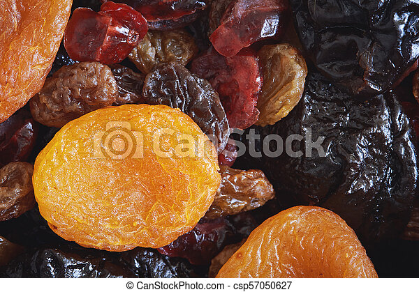 Mix of dried fruits - csp57050627