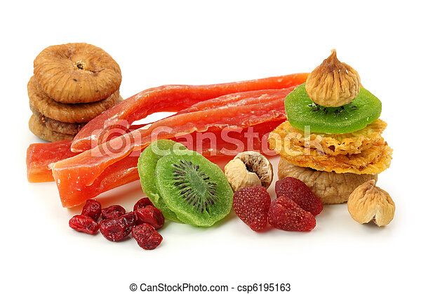 Mix of dried fruits  - csp6195163