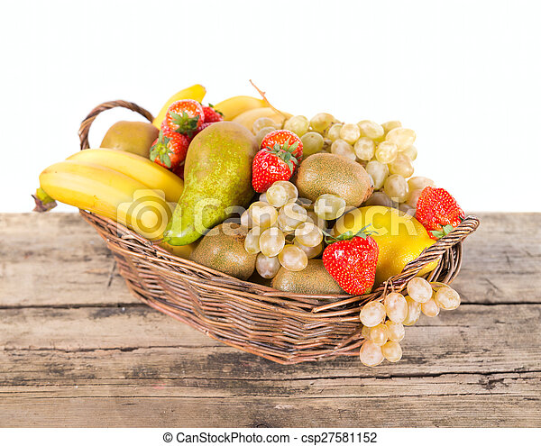 Mix of fruits - csp27581152