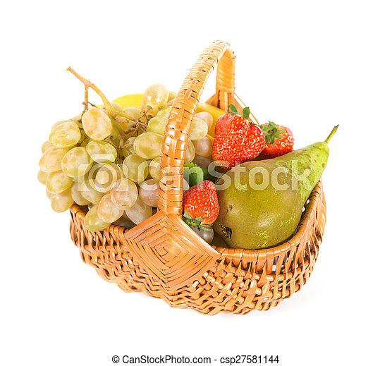 Mix of fruits - csp27581144