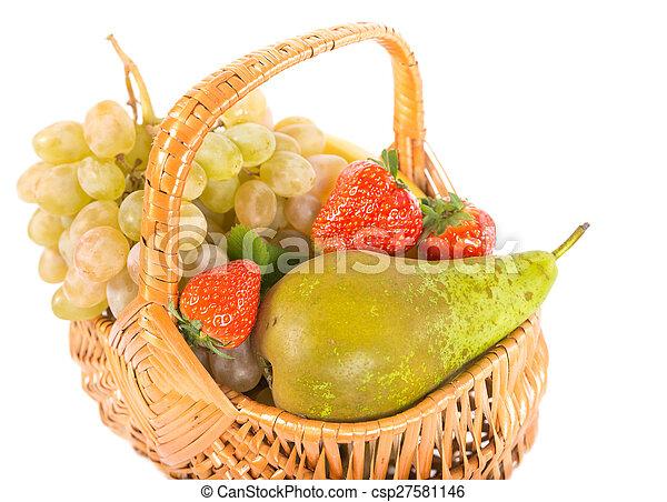 Mix of fruits - csp27581146