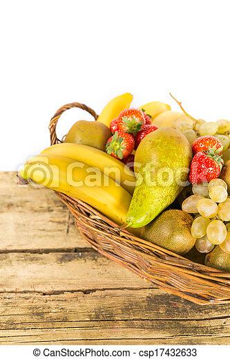Mix of fruits - csp17432633