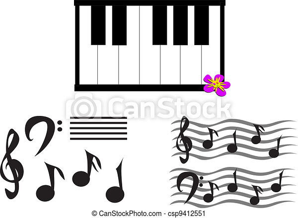 Mix Of Musical Notes Symbols And Here Are Some Basic Symbols To
