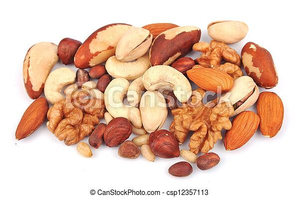 Mix of nuts - csp12357113