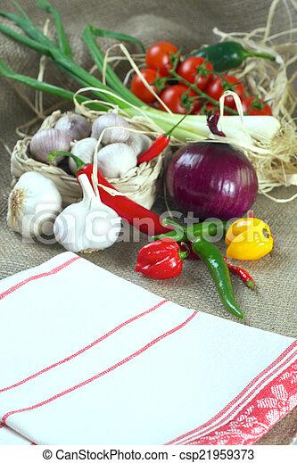 Mix of vegetables - csp21959373